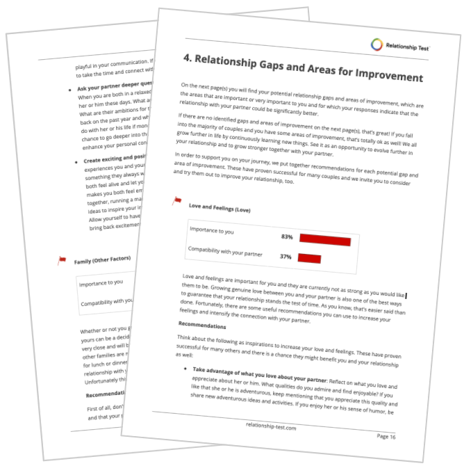 Red Flags and Recommendations